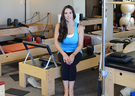 Pilates Instructor Tammy Brighton